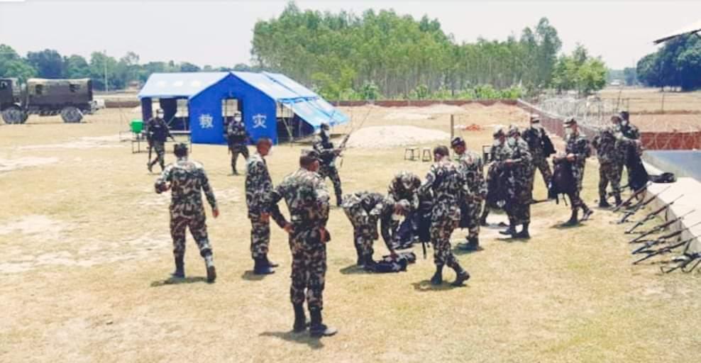 दाङको तुल्सीपुरमा २९ जना नेपाली सेनामा कोरोना पुष्टि