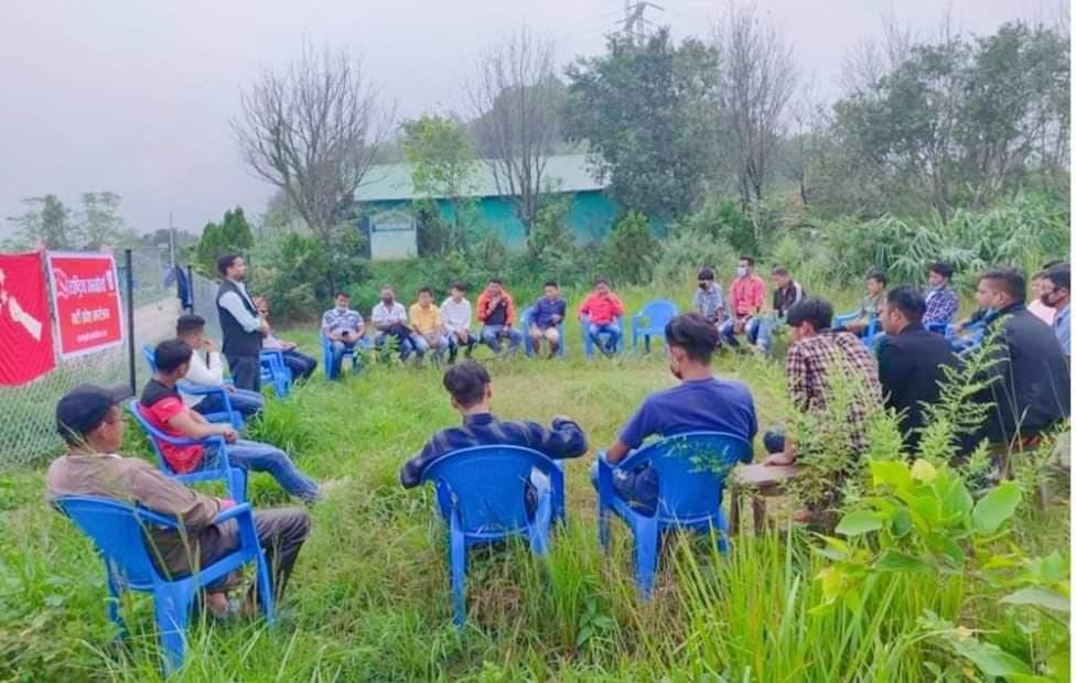 जनमोर्चा युबक संघको बङगलाचुलीमा पालिका स्तरीय १७ सदस्यीय समिती गठन