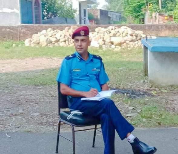 देउखुरी क्षेत्रको शान्ति सुरक्षा चुस्तदुरुस्त बनाउने निरीक्षक:भट्टले