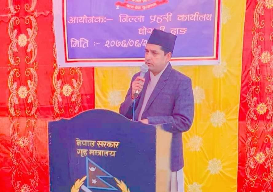 दाङमा निषेधाज्ञा हट्यो प्रमुख जिल्ला अधिकारी: रिजाल