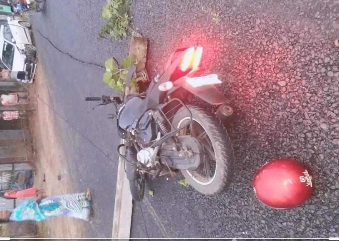 तुल्सीपुरमा मोटरसाईकल दुर्घटना हुँदा शिक्षालय प्रमुखको मृत्यु
