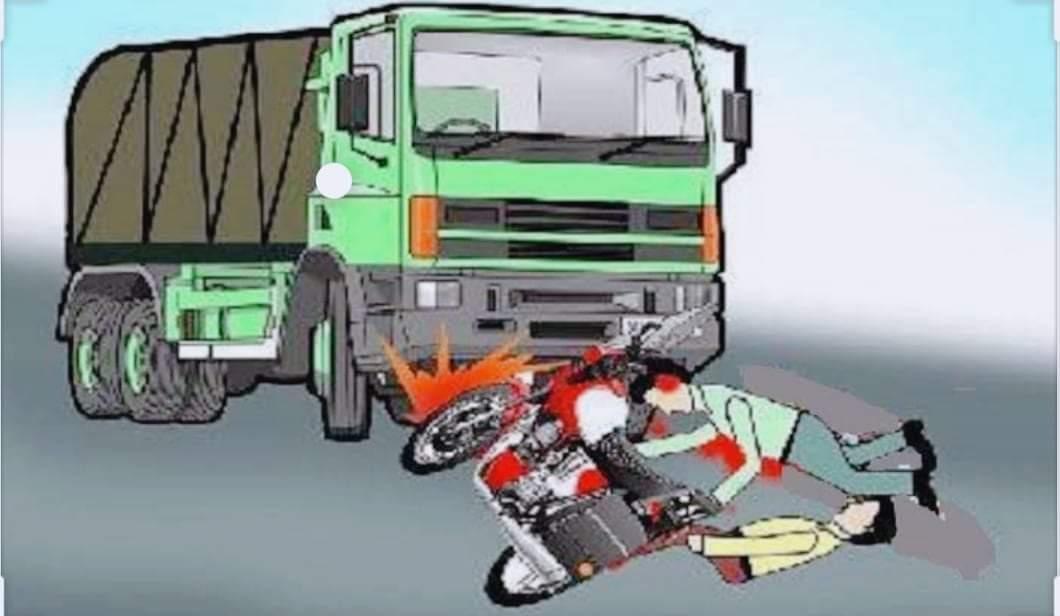 ट्रकको ठक्करबाट एकजना महिलाको मृत्यु