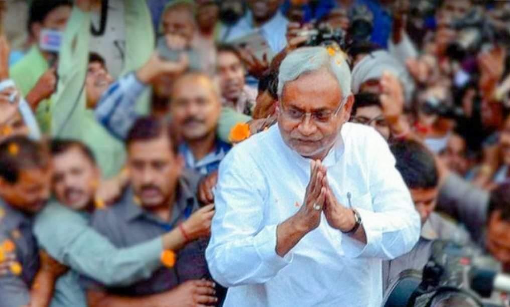 भारतमा नीतिशकुमार सातौं पटक विहारको मुख्यमन्त्रीमा नियुक्त