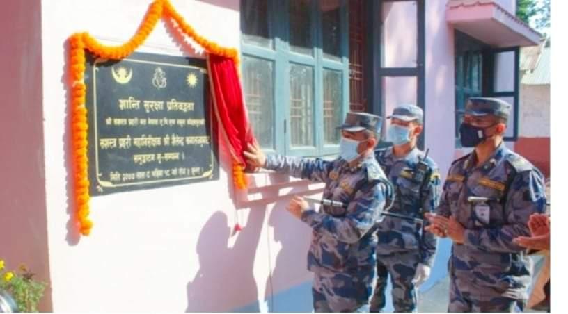सशस्त्र प्रहरीका IGP खनालले नेपाल एपीएफ स्कुल कोहलपुरको उद्घाटन
