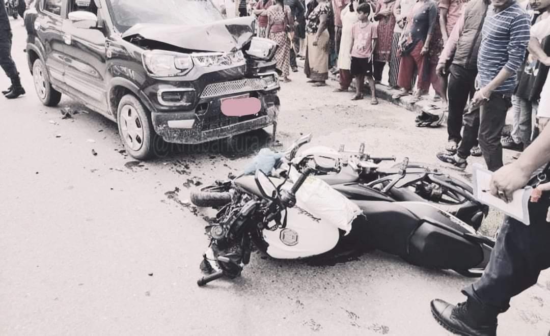रुपन्देहीमा सवारी दुर्घटना हुँदा ३ जनाको मृत्यु