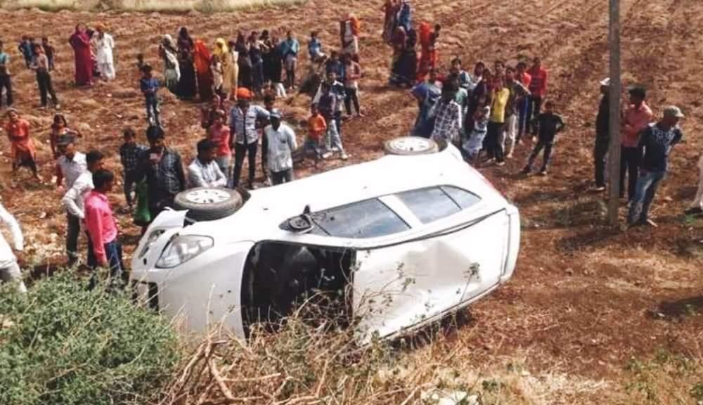 बर्दियामा टिपर र कार ठोक्किँदा दुई जनाको मृत्यु