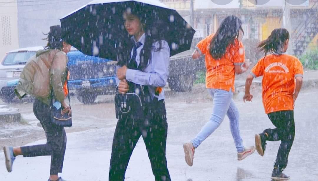 पुर्वको केही स्थानमा वर्षा हुने : मौसम महाशाखा