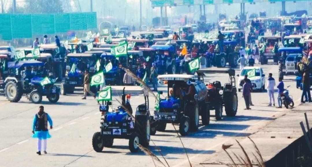 भारतमा किसानले आन्दोलन र चक्काजामको घोषणा