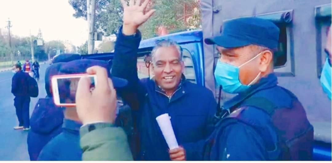 नेकपा विप्लवका नेता धर्मेन्द्र बास्तोला फेरि पनि पक्राउ
