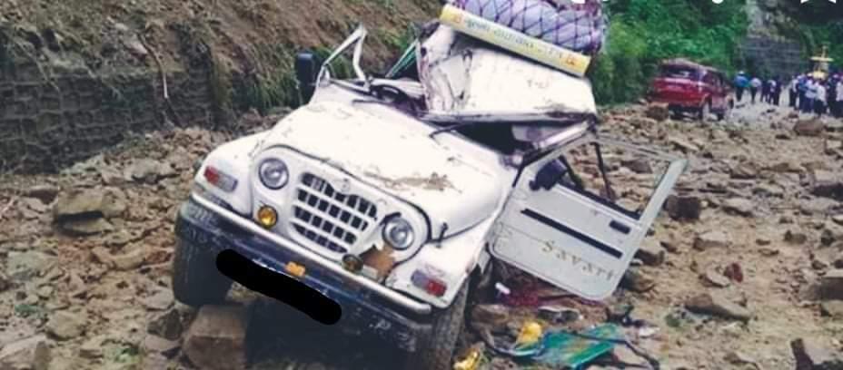 गुल्मीमा जीप दुर्घटना हुँदा ३ जनाको मृत्यु, ६ घाइते