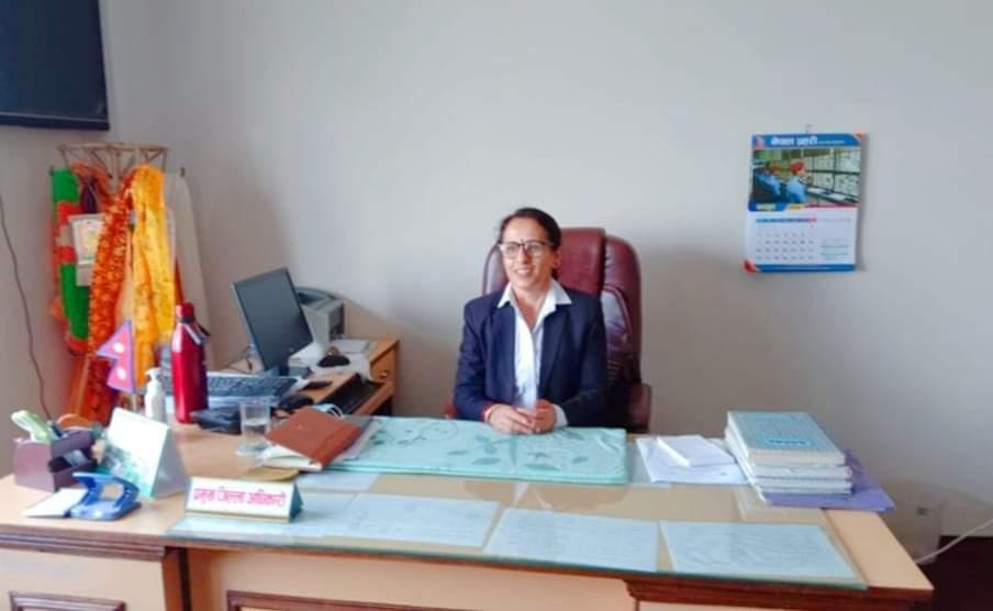 सल्यान जिल्लामा महिला सिडीओ लक्ष्मीदेबी होमागाई खतिवडा