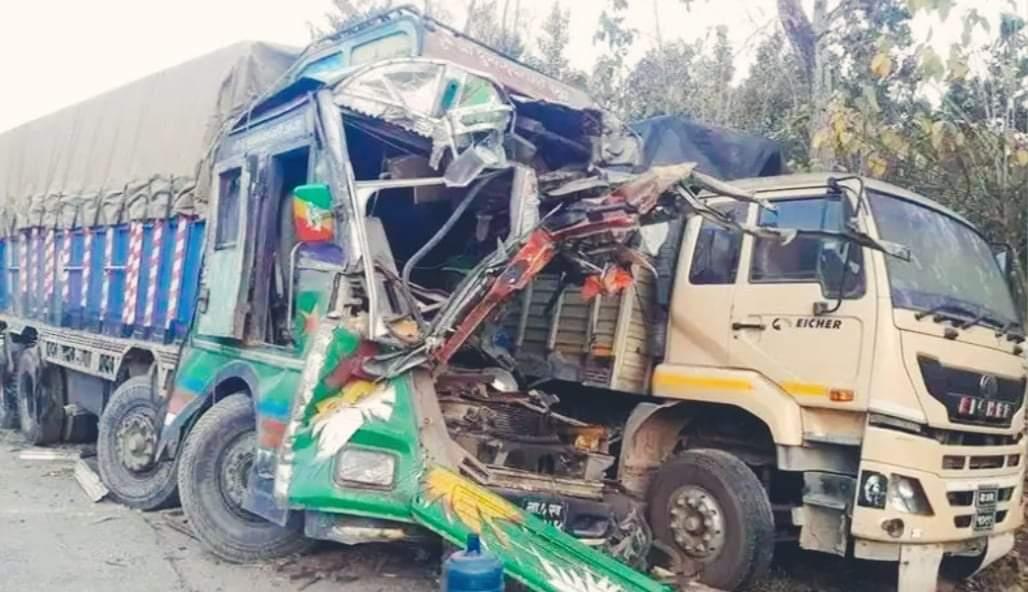 नवलपरासीमा ट्रक दुर्घटना हुँदा दुई जनाको मृत्यु