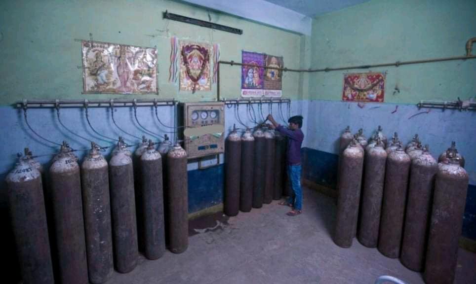 नेपालको अक्सिजन धमाधम भारततिर जादै