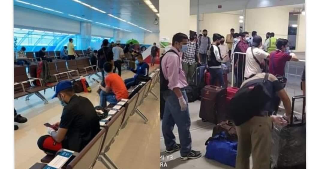 कोरोनाको रिपोर्ट नक्कली पाइएपछि विदेश हिँडेका १२२ यात्री विमानबाट ओरालियो
