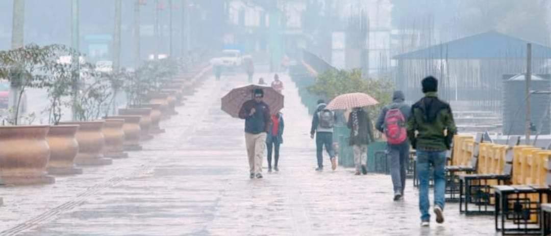 काठमाडौं उपत्यकामा भारी बर्षा तराईको जिल्लामा निकै गर्मी