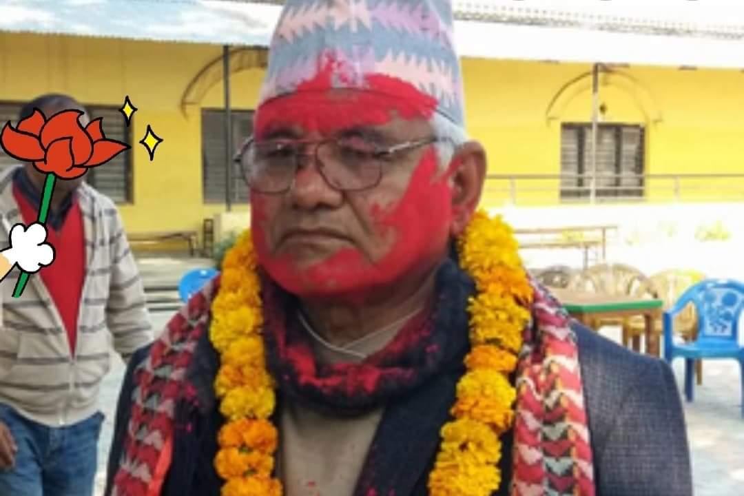 लुम्बिनी प्रदेशसभाका सदस्य अमर बहादुर डाँगी क्षेत्रीद्वारा राजीनामा