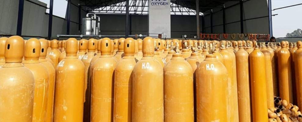 चीनले नेपाललाई दियो २० हजार अक्सिजन सिलिन्डर सहयोग